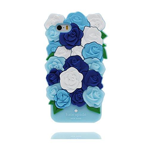 iPhone 5 / 5S Hülle, TPU Gel Shell für Mädchen Handyhülle iPhone SE 5C 5G Cover - Lovely 3D Cartoon Panda Bamboo, Anti-Schock-Kratzer # 1