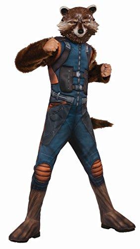 Kostüme Raccoon Kinder Maske Rocket (Guardians of the Galaxy Kinder Kostüm Rocket Raccoon 5 bis 6)