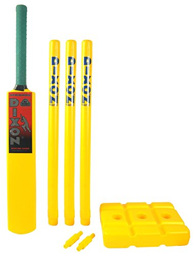 DIXON Cricket Set Plastic heavy for kids 10+ , Beach cricket set, Cricket kit for boys  available at amazon for Rs.539