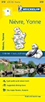 Nievre, Yonne - Michelin Local Map 319