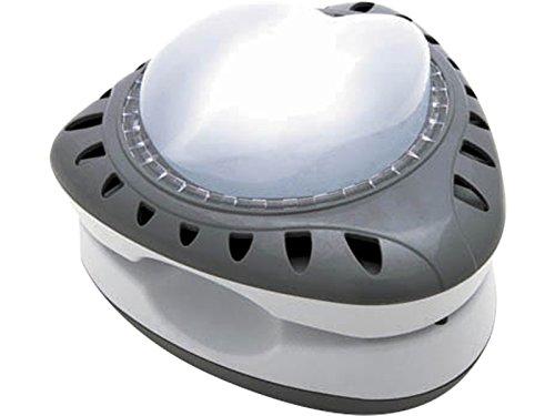 Sehr GROßE Badeinsel 188cm Durchmesser, schwarz mit Pi… | 00025706168533