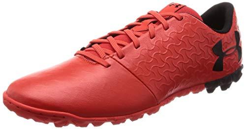 Under Armour Herren Magnetic Select Tf Men's Soccer Shoes Fußballschuhe, Rot (Radio Red/Black 600), 44 EU (Under Armour Stiefel Kinder)