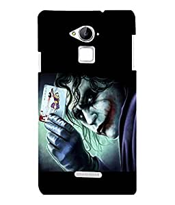 printtech Joker Card Gotham Back Case Cover for COOLPAD NOTE 3 / COOLPAD NOTE 3 PLUS