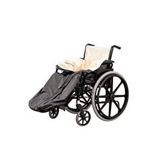 Ability Superstore - Gefütterter Schlupfsack für Rollstuhlfahrer