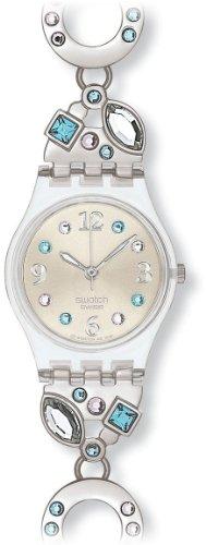 Swatch Irony Damen-Armbanduhr Menthol Tone Lk 292G -