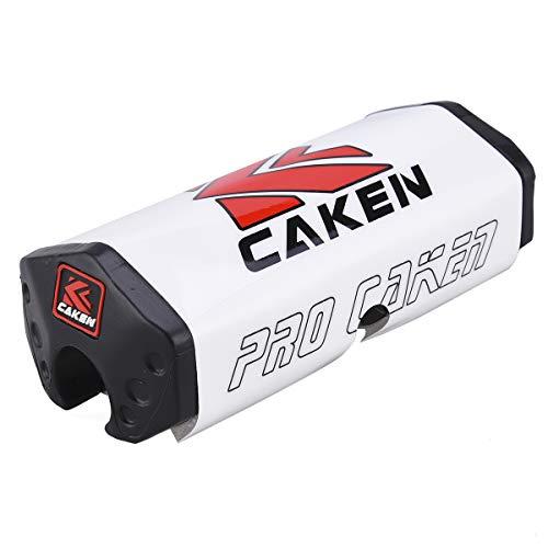 Pro Caken - Almohadilla para manillar de 28 mm, para motocross CRF RMZYZF, color negro