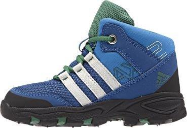 adidas Unisex Baby Ax2 Mid I Sneaker, Blau/Weiß/Blau (Supazu/Blatiz/Eqtazu), 24 EU