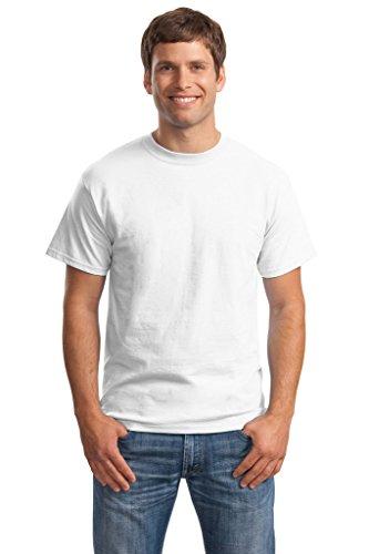 Hanes Big Mens Born to Be Worn 100% Cotton T-Shirt White
