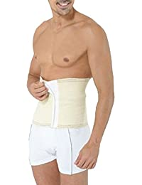 MENS PURE WOOL SLIMMING BODY SHAPER BACK SUPPORT BELT VELCRO CLOSURE GIRDLE