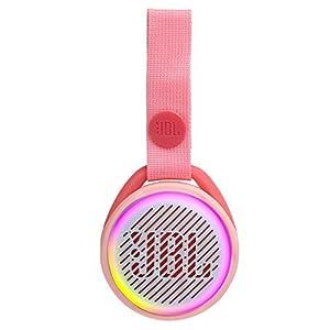 JBL JR POP – Portable Wireless Speaker with Light Feature for Kids – Fun speaker for little music fans – Pink