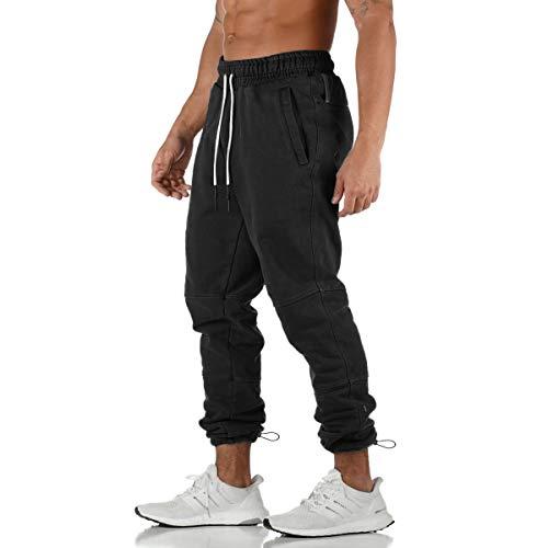 Yidarton pantalon de jogging homme casual mode...
