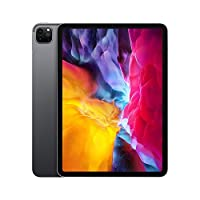 ابل ايباد برو مع تطبيق فيس تايم 2020 شاشة 11 انش. اتصال واي فاي + خلوي 256GB MXE42AB/A
