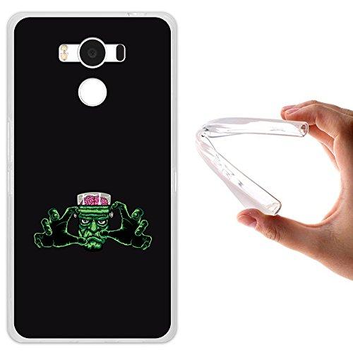 WoowCase Elephone P9000 Hülle, Handyhülle Silikon für [ Elephone P9000 ] Frankenstein Monster Handytasche Handy Cover Case Schutzhülle Flexible TPU - Transparent