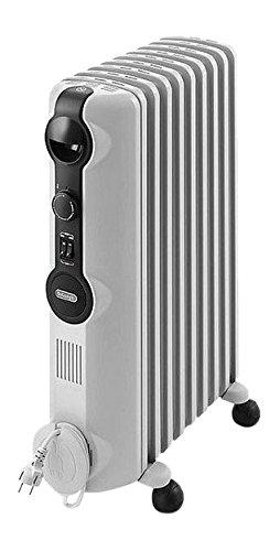 DeLonghi TRRS1225 Radiator Radia-S Serie (Für Räume bis zu 75 m³, 2500 Watt) grau
