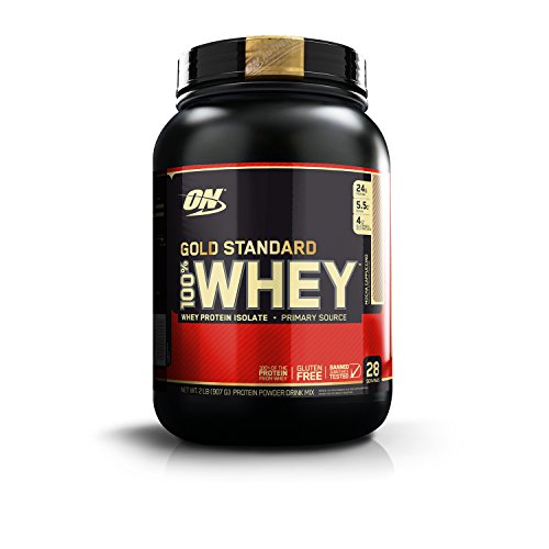 Optimum Nutrition 100% Whey Gold Standard - 2 lbs (Mocha Cappuccino)