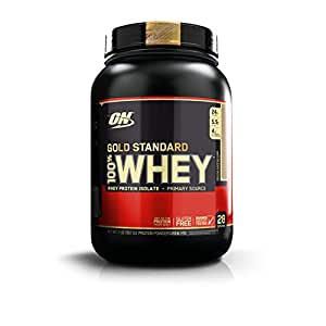 Optimum Nutrition (ON) Gold Standard 100% Whey Protein Powder - 2 lbs, 907 g (Mocha Cappuccino)