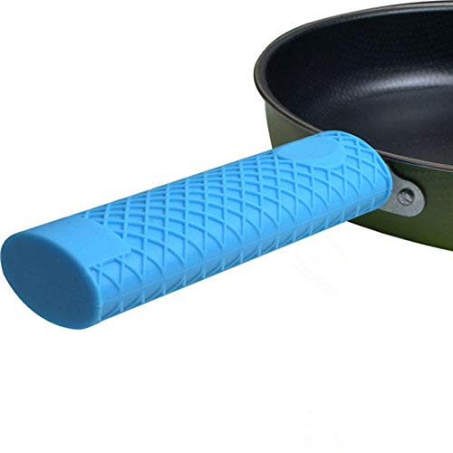 Kitchen Silicone Insulated Panhandle Cover Anti-Slip Kitchen Sets Handle Panhandle Cover
