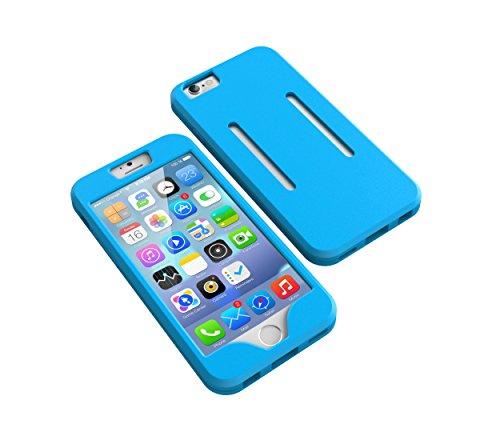 Aohang Custodia Bracciale sportivo per iPhone 6 Plus,6S Plus , perfetto per corsa, jogging, camminare, Cover case armband banda per braccio per iPhone 6 Plus 6S Plus 5.5 Sky blue