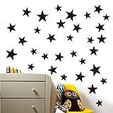 Papier Peint Autocollant, Taille Mixte Étoiles Stickers Muraux Kid Decal Art Chambre de Bébé Chambre Vinyle Décoration Sticker Mural Liquidation de décoration (B)