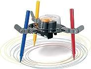 Popsugar Doodling Robot Educational DIY Science Kit for Kids | Build a Robot That's an Artist, Multicolor