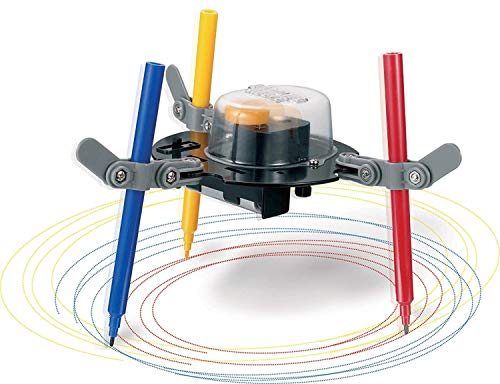 Popsugar Doodling Robot Educational DIY Science Kit for Kids   Build a Robot That's an Artist, Multicolor