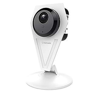usmain 720p cam ra wi fi int rieur maison cam ra s curit surveillance ip avec vision. Black Bedroom Furniture Sets. Home Design Ideas
