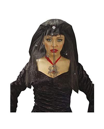 Horror-Shop Schwarze Witwe Schleier