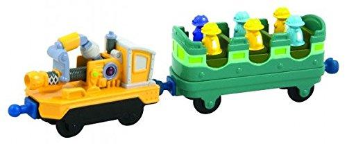 Tomy Chuggington - LC54029 - Véhicule Miniature et Circuit - Les Wagons d'entrainement