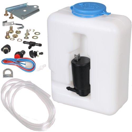 24 V Universal-Scheibenwasch-System / Scheibenwaschanlage / Scheibenwaschpumpe / 1,3 Liter -