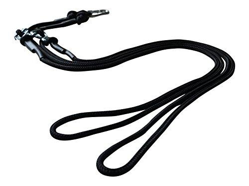 BodyCROSS Schlingentrainer Seile | OHNE Griffe, Adaption und Türbefestigung | inkl. Übungsposter | Made in Germany | 10 Jahre Garantie
