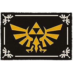 Felpudo Zelda Estampado, Multicolor, 40 x 60 cm