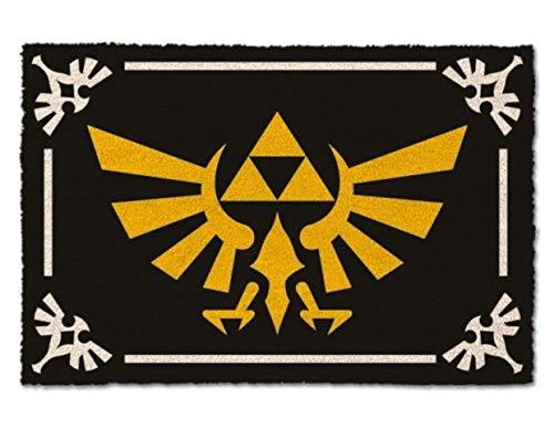 Zelda- Felpudo, Estampado, Multicolor, 40 x 60 cm (Pyramid GP85118)
