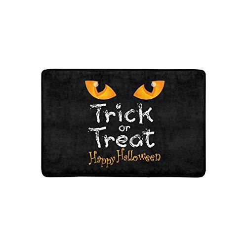 ekoration Süßes oder Saures mit Cat Eye-Fußmatte rutschfeste Fußmatte für Innen- und Außenbereiche Fußmatte Wohnkultur, Eingangsteppich Gummiunterlage ()