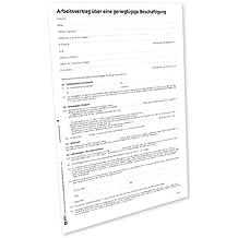 Suchergebnis Auf Amazonde Für Arbeitsvertrag Vorlage