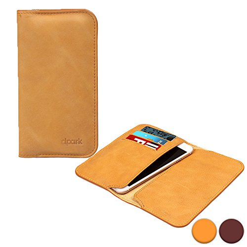 d-park-5-57-universal-leather-smartphone-wallet-case-in-camel-card-slots-dual-slip-style-pockets-ult