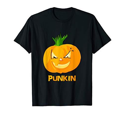 Punkin Punk Rock Pumpkin T-Shirt