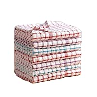 ZET Terry Tea Towel 100% Cotton Soft Touch Absorbing Clean Cloth Pack Of 3,6,9 & 12. (Pack Of 9)