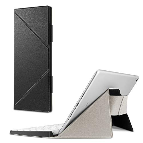 Fintie Trage-Hülle kompatibel mit Apple Magic Keyboard (MLA22LL) - Schmale, leichte Schutz-Tasche mit Standfunktion kompatibel mit iPhone/iPad/iPad Pro/iPad Air/iPad Mini/iMac, Schwarz (Tragen Mini Tasche Ipad)
