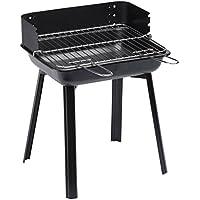 Landmann 11527 Grill Firewood Black barbecue - Barbecues & Grills (Grill, Firewood, 4 person(s), Grate, Black, Rectangular)