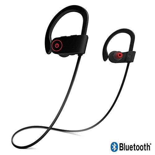 KARYLAX Écouteurs Kit Piéton Bluetooth Tour de Cou coutour d'oreille Noir pour Crosscall Action-X3 / Trekker-X4 / Core-X3 / Trekker-M1