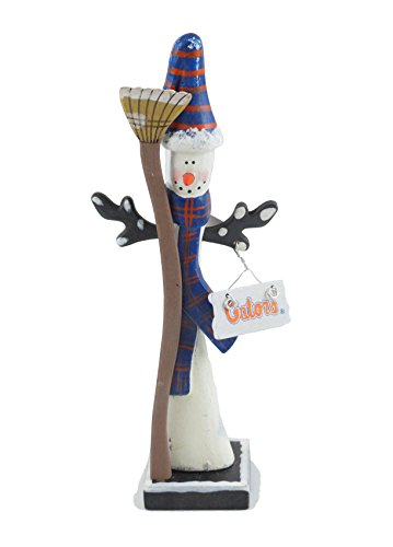 Hanna 's handiworks University of Florida Schneemann Figur Striped Hat - Gator Statue