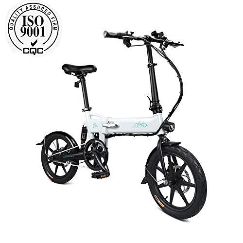 FIIDO D2 Bicicletta elettrica pieghevole per adulto, bici elettrica, motore...