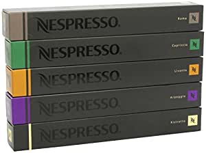 50 Nespresso Capsules Special Mixed Variety