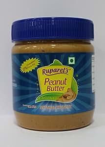 Ruparel's Natural Peanut Butter Crunchy (No Added Hydrogenated Oils, No Added Sugar or Salt) (340g)
