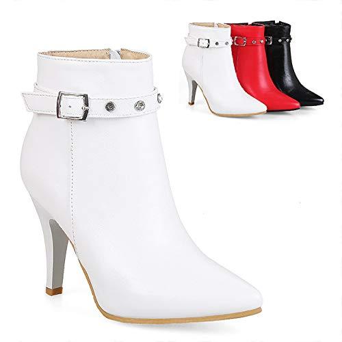 CWJ Schuhe Stiletto Mode Europäischen Und Amerikanischen Römischen Stiefeln/Seitlichem...