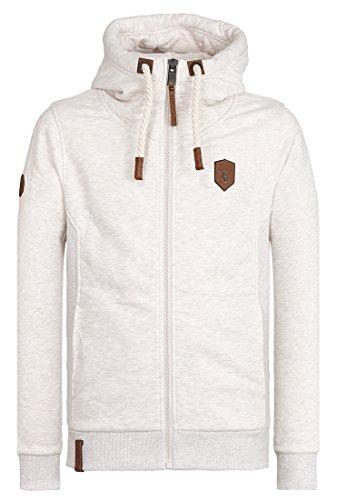 Naketano Male Zipped Jacket Birol IX Oma Melange
