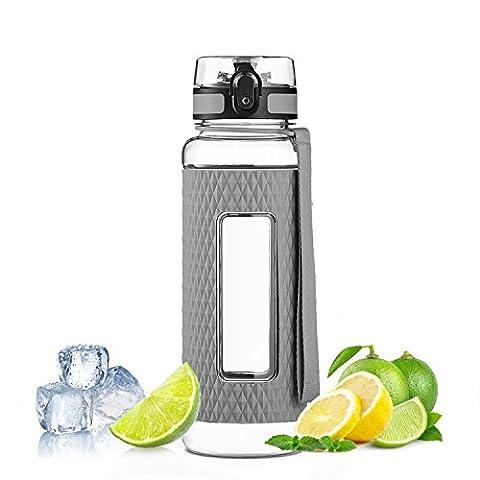 Aorin Beste Frucht Spritze Sport Wasserflasche - 17oz - Eco