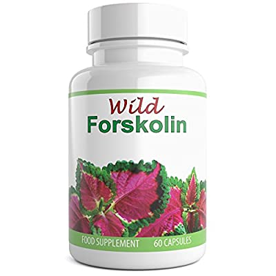 WILD ESSENTIALS Pure Forskolin Ultra Extract for Weight Loss & Appetite Suppressant, Metabolism Booster, Carb Blocker & Belly Fat Burner. Suitable for Men and Women. 60 Capsules give a Full One Month/30 Day Supply. Proudly Manufactured in the UK. by Wild