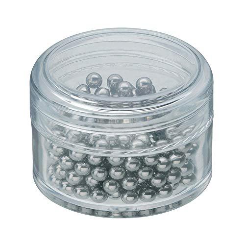 WMF Basic Reinigungsperlen, Cromargan Edelstahl, für Karaffen, Dekanter, Vasen oder Flaschen