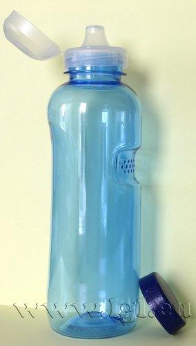 Trinkflasche 1,0 l Wasserflasche aus Tritan (Bisphenol A frei) + Trinkdeckel (Sportverschluss)